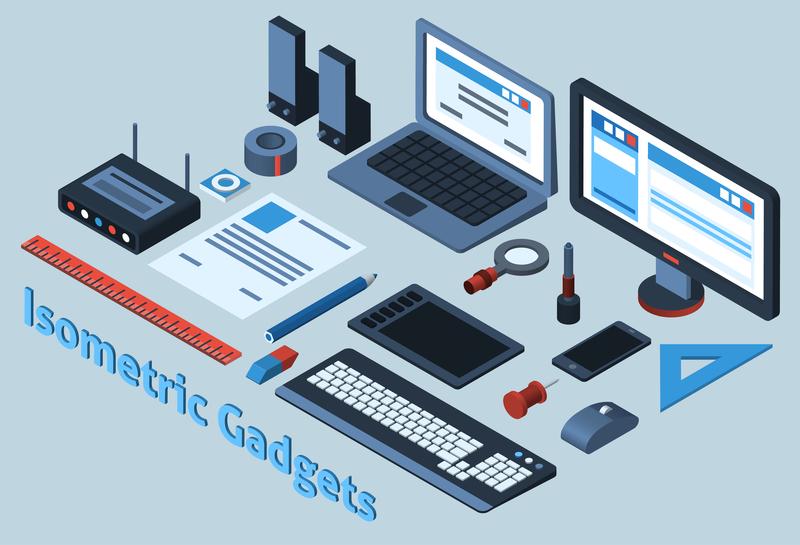 Smarte gadgets og gaming udsty