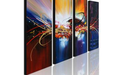 Flotte nye billige malerier til væggene